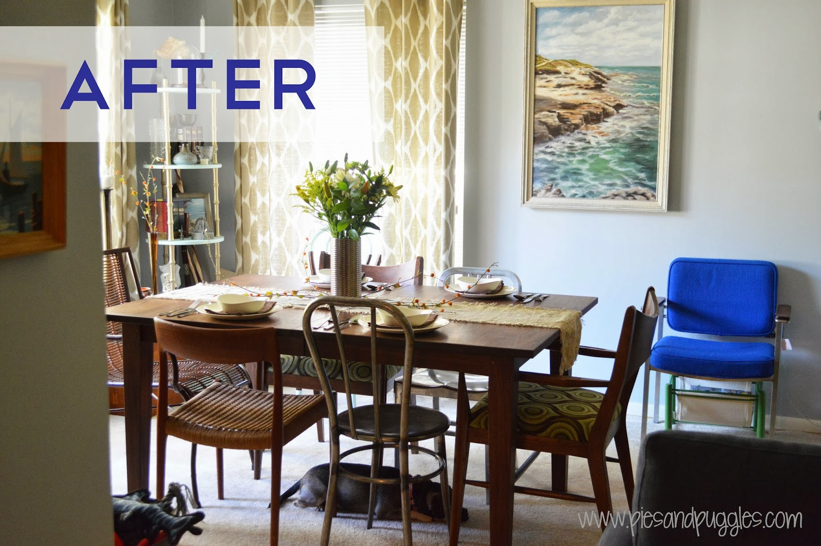 Flip Flopping Living Room And Dining Makeover