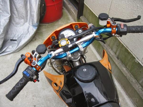 カワサキKSR110 油圧クラッチマスターシリンダー