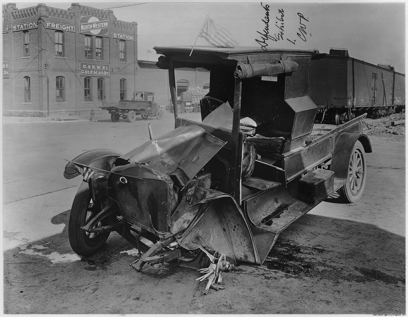 Wrecked Trucks