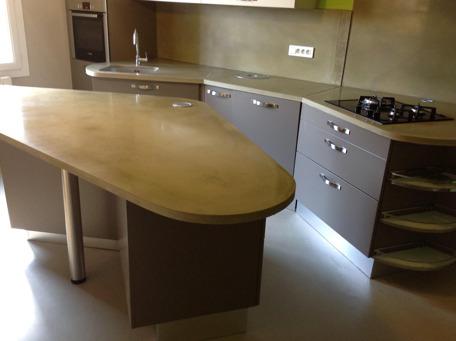 t m beton design b ton ductal cuisine. Black Bedroom Furniture Sets. Home Design Ideas