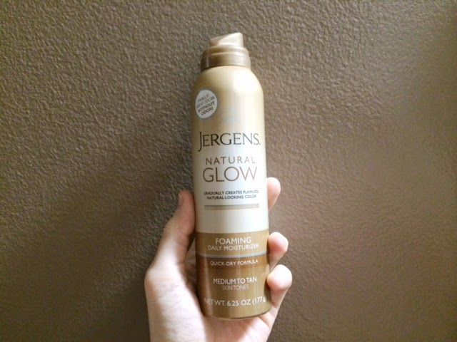 Jergens Natural Glow Foam