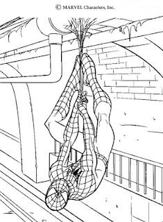espetacular homem aranha filme desenhos para colorir online