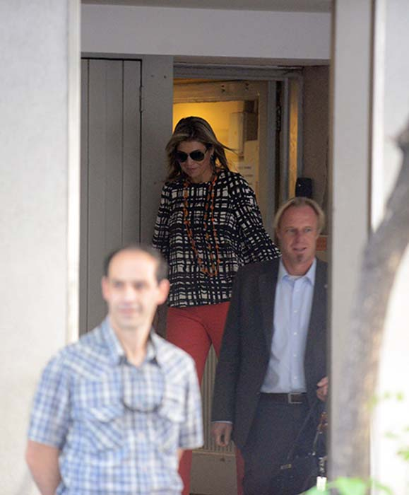 Queen Maxima went to visit sick father at the Fundaleu clinic