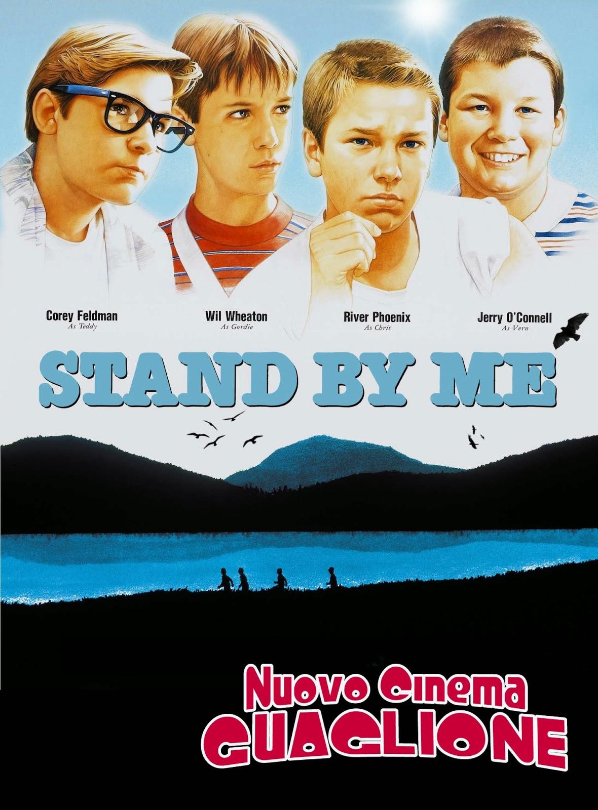 Stand by Me ricordo di un'estate 1986 film recensione poster