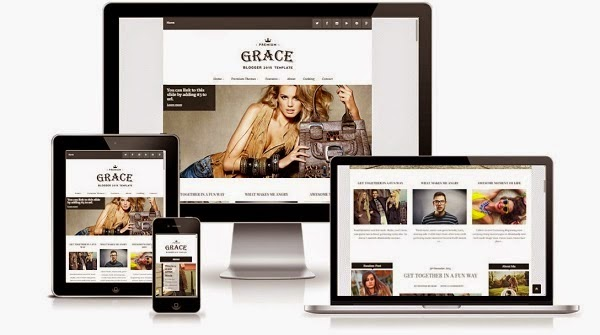 Grace Responsive Blogger Template