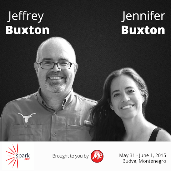 Međunarodni eksperti Jennifer i Jeffry Buxton predavači na Spark.me konferenciji