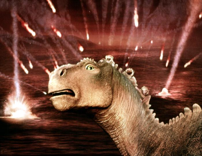 Meteors Dinosaur 2000 animatedfilmreviews.blogspot.com