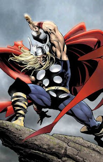 Dios Thor. Mitologia Nordica. Guerrero Vikingo