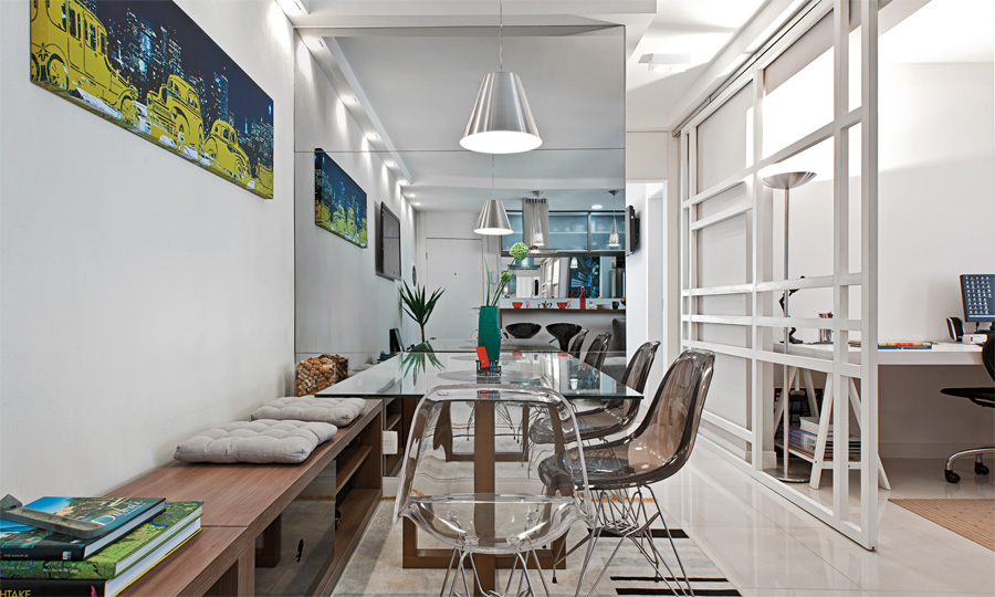 Decoracao De Sala De Jantar Com Banco ~ apartamento decorado, blog de decoração, apartamento masculino
