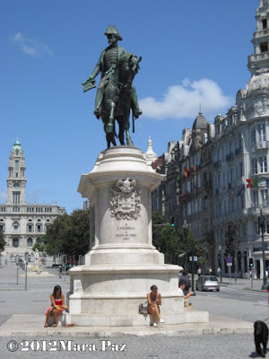 Statue of King Pedro IV, Porto