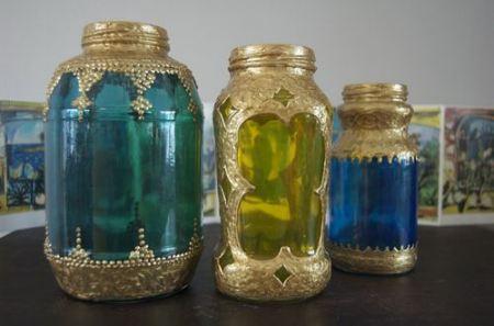 Lampada Barattolo Fai Da Te : Vivere verde lampade marocchine fai da te