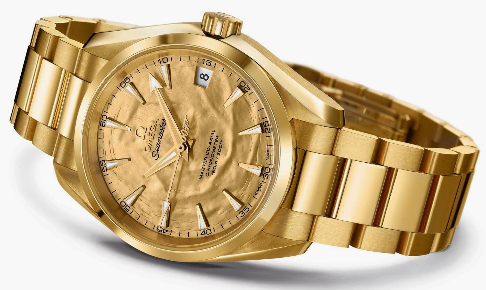 OMEGA Seamaster Aqua Terra Goldfinger replica watch
