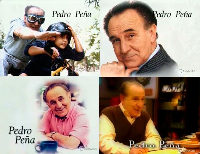 Fallece el actor Pedro Peña, el señor Manolo