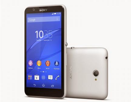 harga HP Sony Xperia E4 terbaru 2015