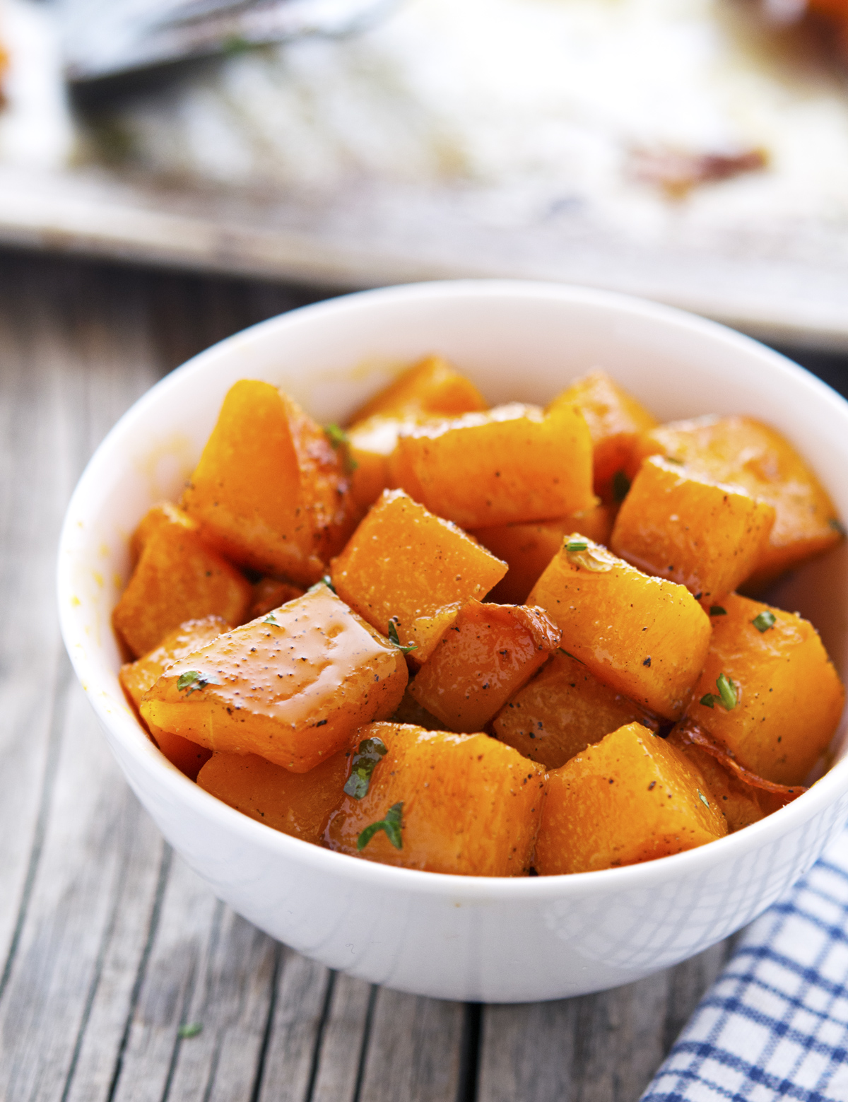 Spicy Maple-Glazed Butternut Squash