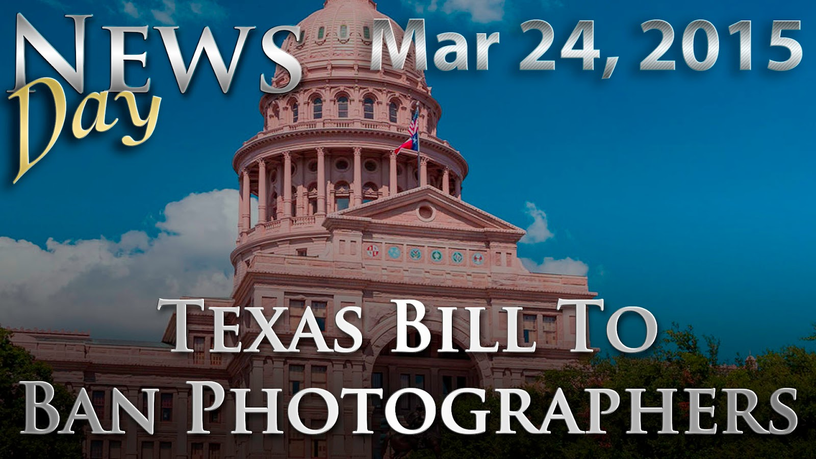 Texas Bill To Ban Photographers, YouTube 360, New Canon 50mm f/1.2L Rumors | News Day