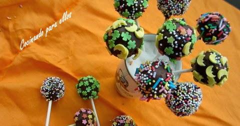 Cocinando para ellos pop cakes - Cocinando para ellos ...