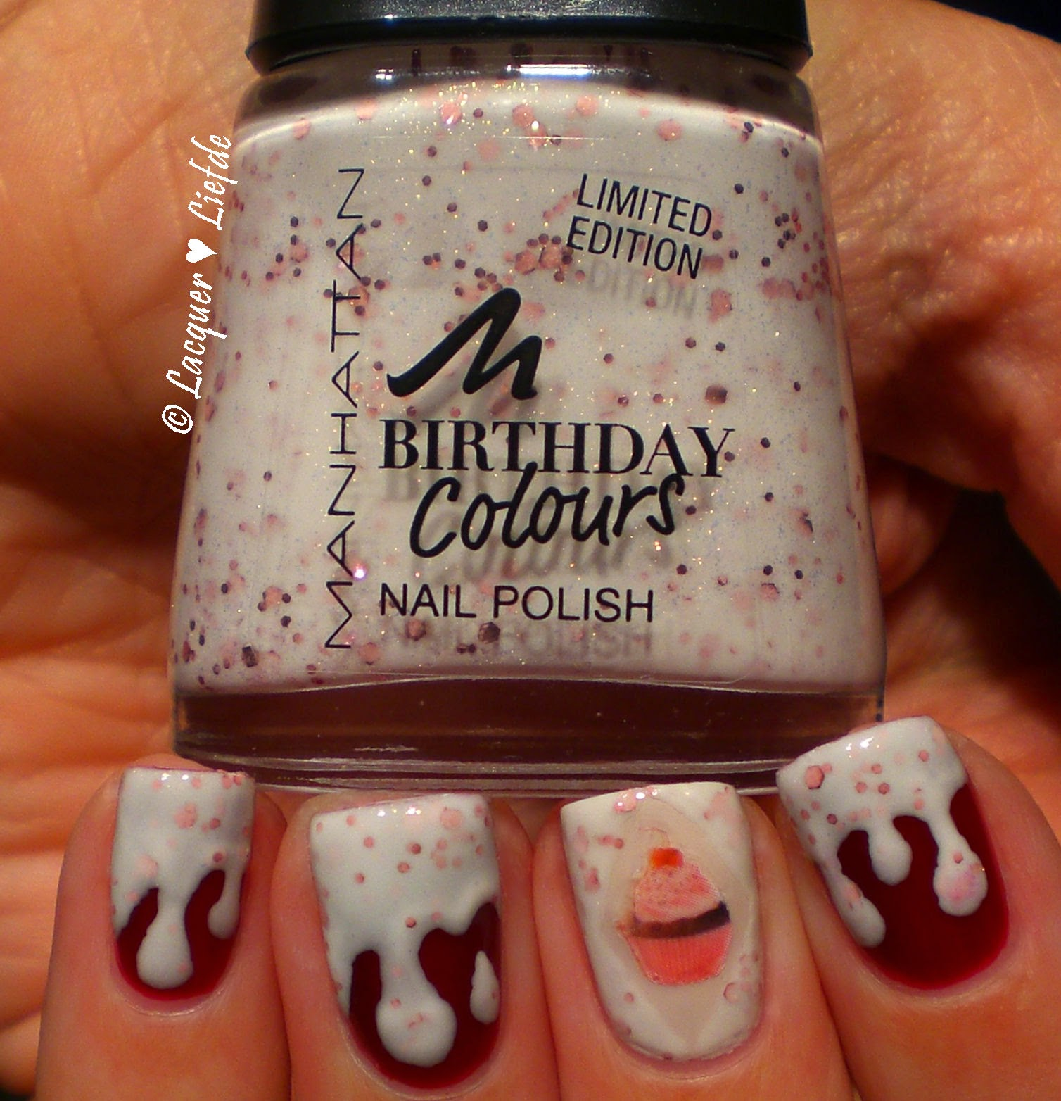 Manhattan Cupcake Addicted - Birthday Colors