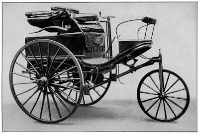 O histórico Patent-Motorwagen n. 3.