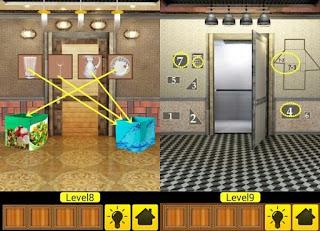 100 Doors Mind Boggling Level 6 7 8 9 10 Solution