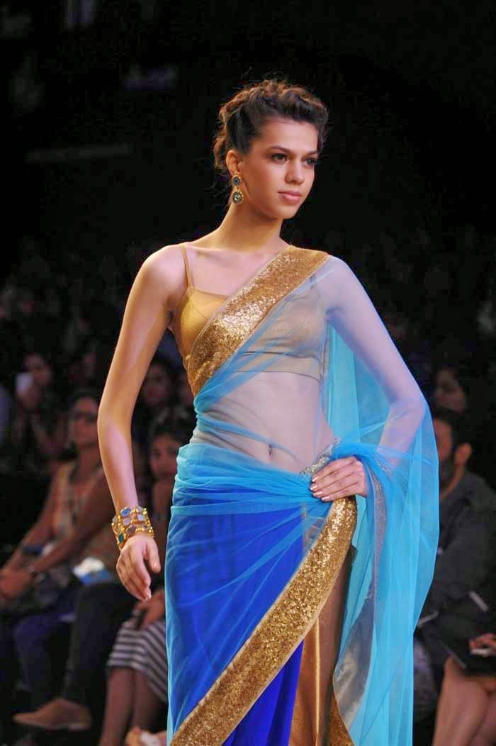 Model at Lakme Fashion Week Summer/Resort 2014