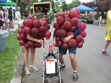 adorable couples costume alert they made a wine baby