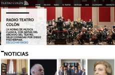 El Teatro Colón renovó su sitio web, y ahora tiene una radio online y hará transmisiones de conciertos en vivo por streaming