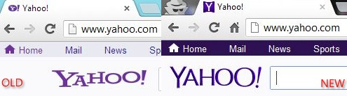 yahoo old new logo favicon