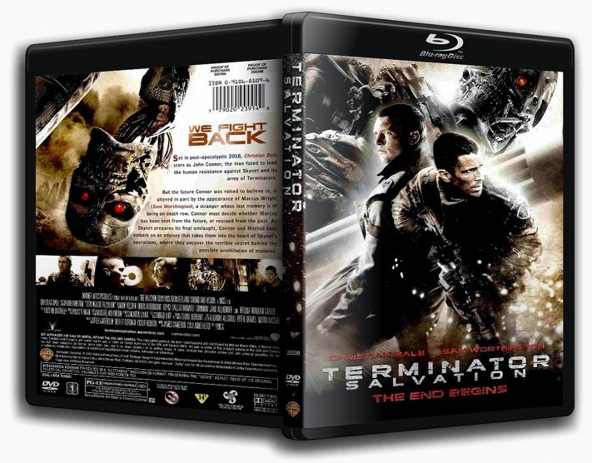 Terminator Salvation Blu-ray DVD Case