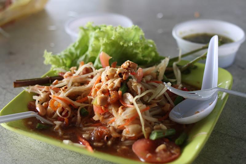 Maries Matmisjon Som Tam Spicy Papaya Salat