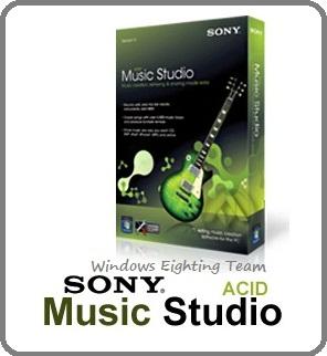 Sony acid music studio v8 0 full patch fullshare the for Acid song 80s