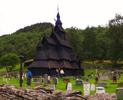 Stavkirke: iglesias vikingas de Noruega