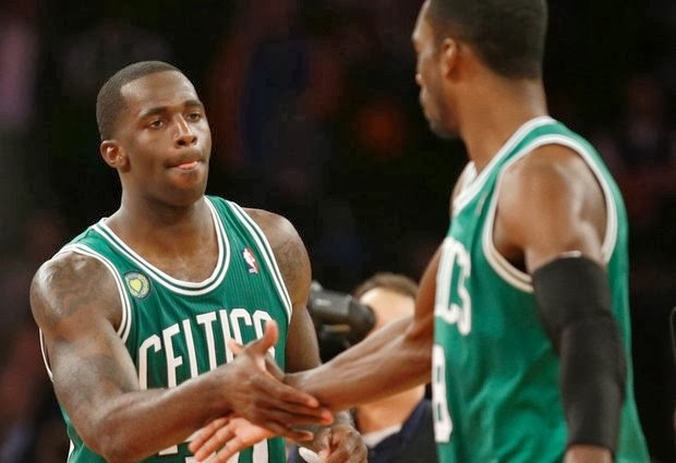 Brandon Bass has been working hard, and yes he's still a Celtic