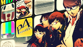 Yu Narukami Naoto Shirogane Yukiko Amagi Chie Satonaka P4 Persona 4 Anime HD Wallpaper Desktop PC Background
