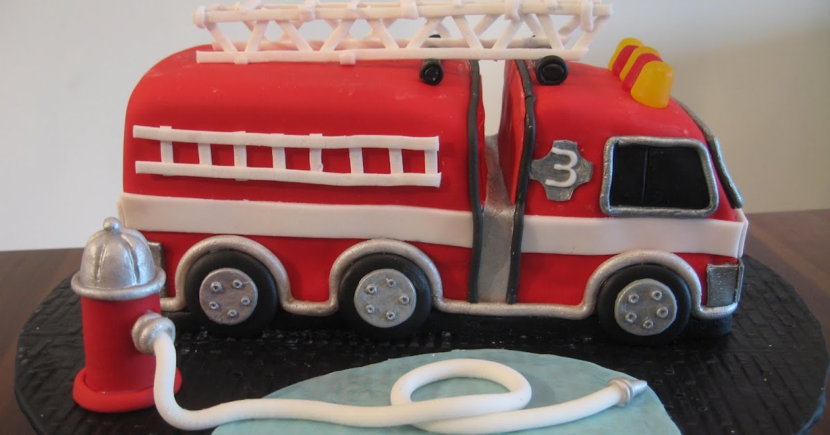 My Sweet Blog Cooper S Fire Truck