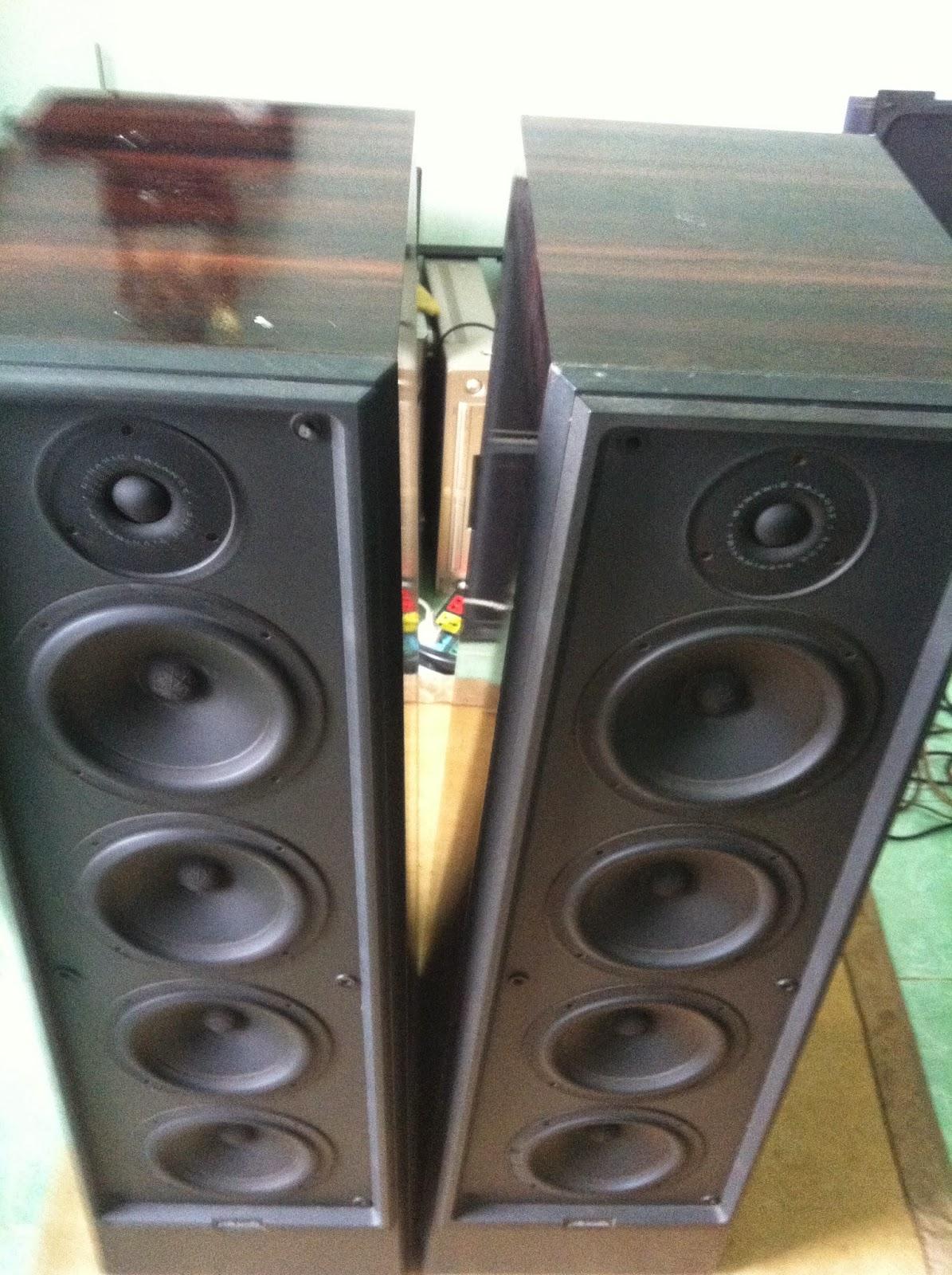 Phía trên Polk Audio LS90