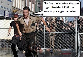 Resident Evil pode salvar sua vida em..