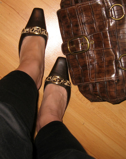 leopard shoes,