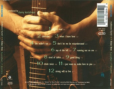 SouthernBluesRock  Robben Ford The Blue Line 1995 Handful Of Blues