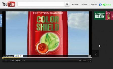 Evitar la publicidad en youtube, Skip ads on Youtube