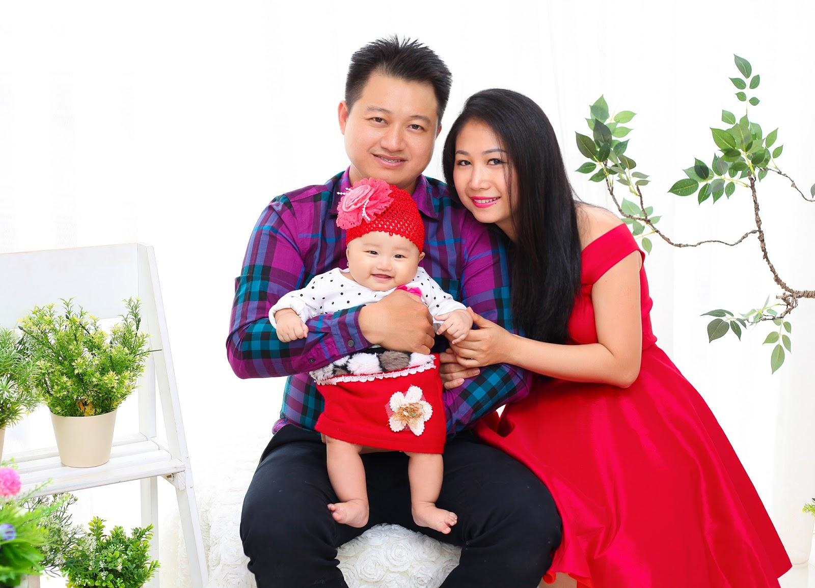 Chụp ảnh gia đình giá rẻ tại Cozy Studio