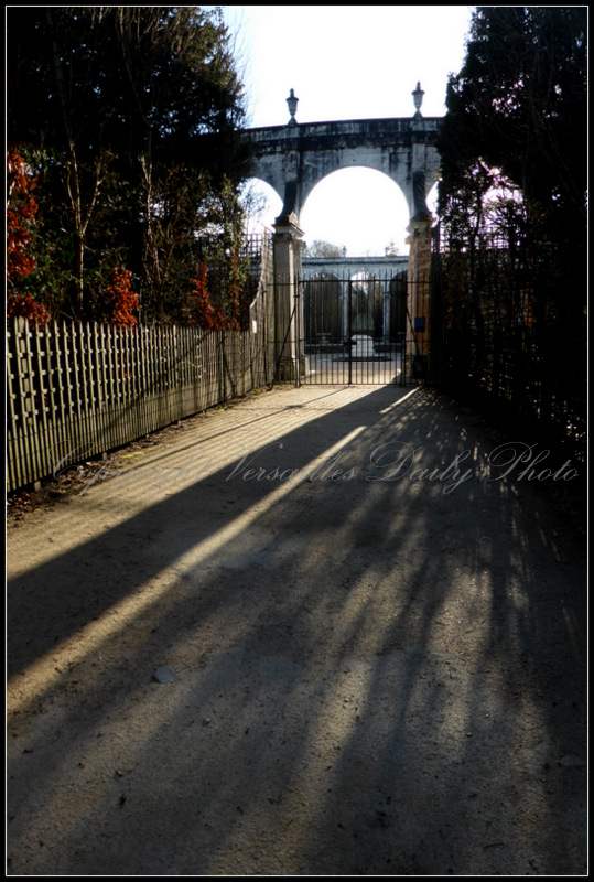 Bosquet de la colonnade Versailles