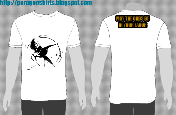 Hunger Games Inspired Shirt Design