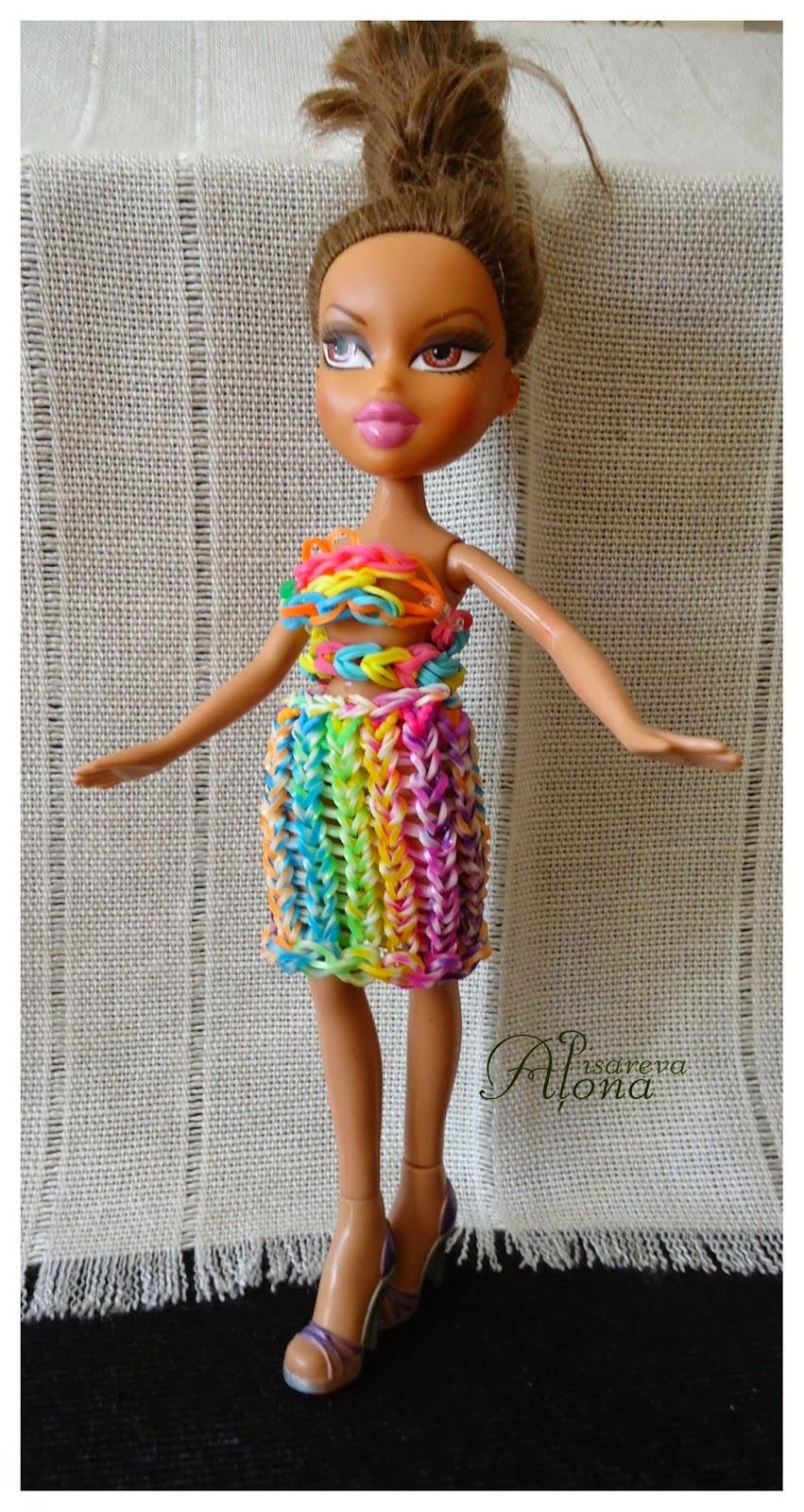 Одежда для кукол из резинок: фото и видео мастер-классы
