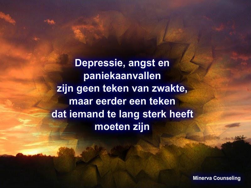 Citaten Met Angst : Minerva depressie angst of paniekaanvallen