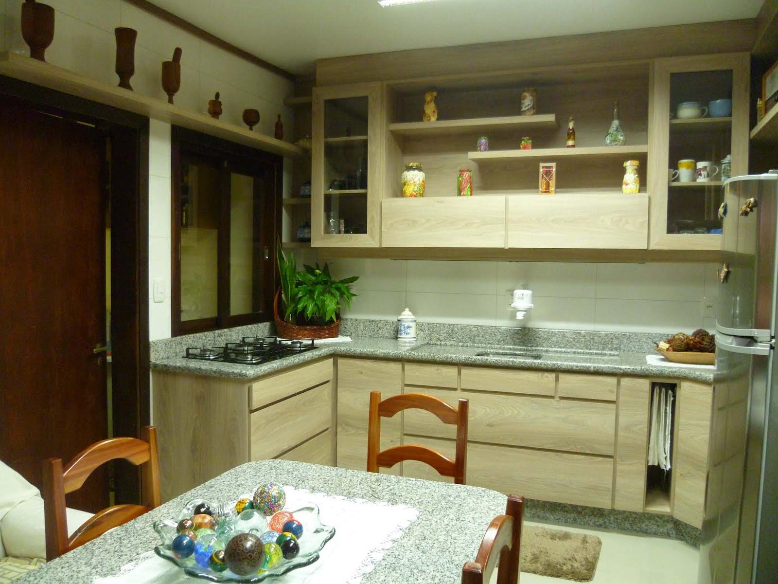 Vivian Rizzon: Cozinha em tom madeirado #9B7330 1600 1200