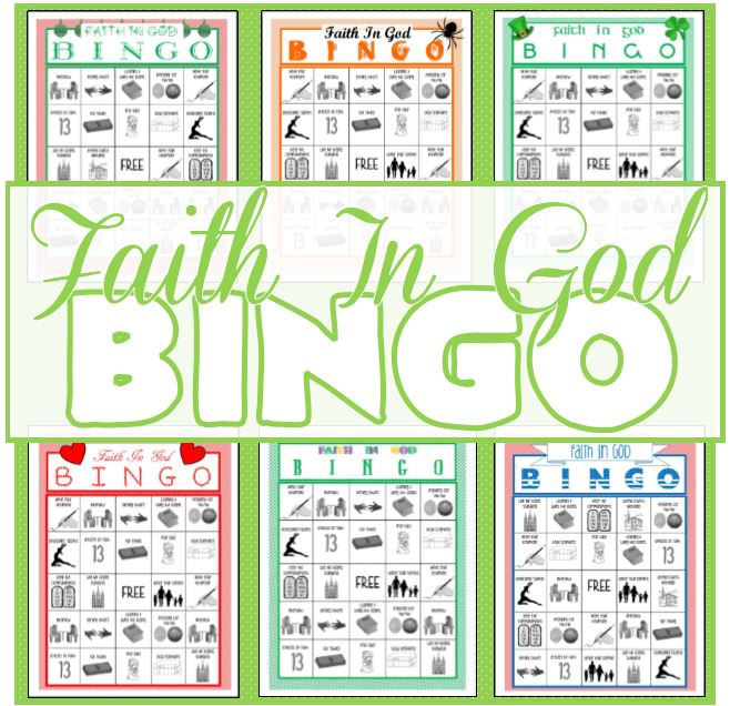 Faith In God Bingo