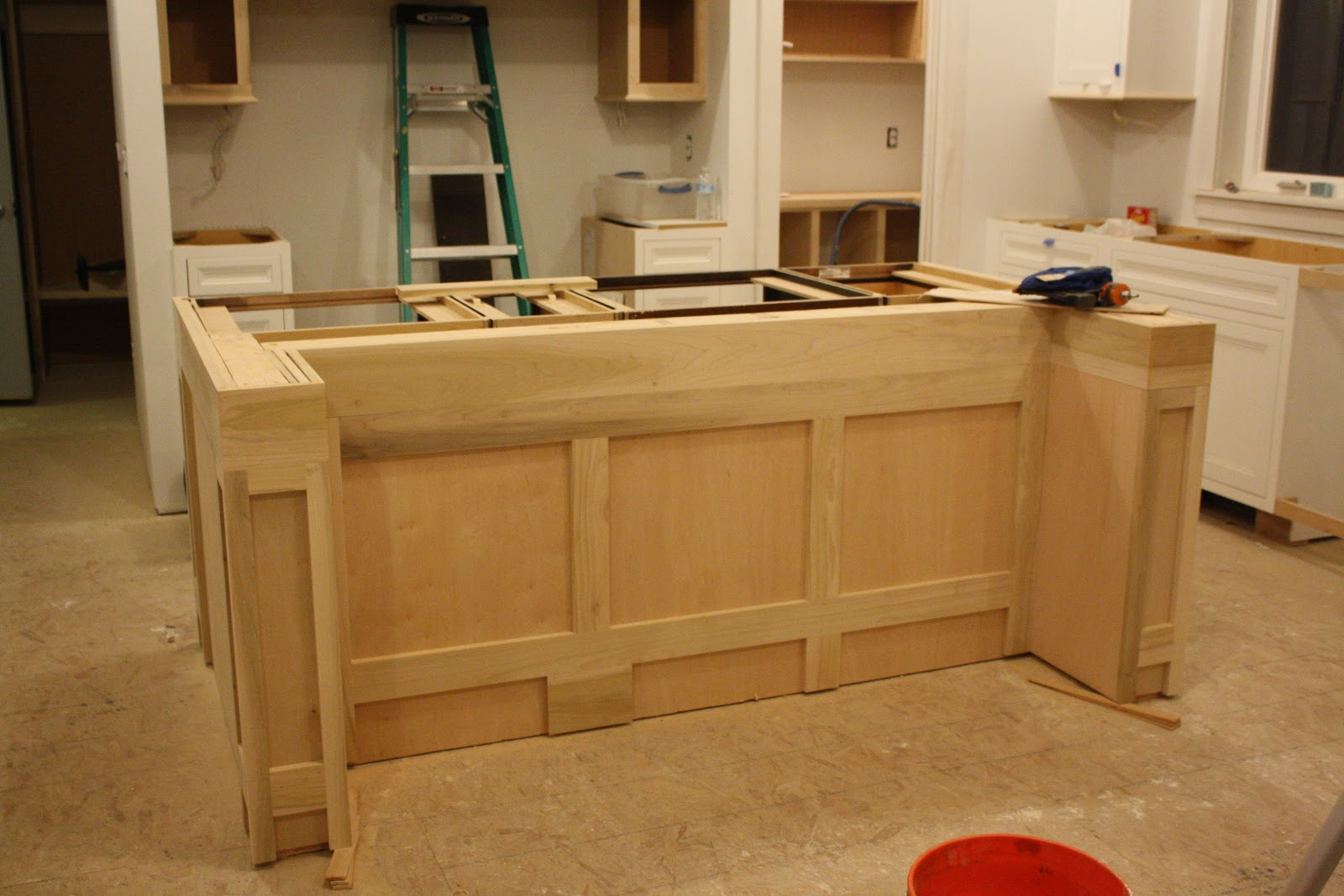 Build Range Hood House On Tufton The Build Almost Finished Products