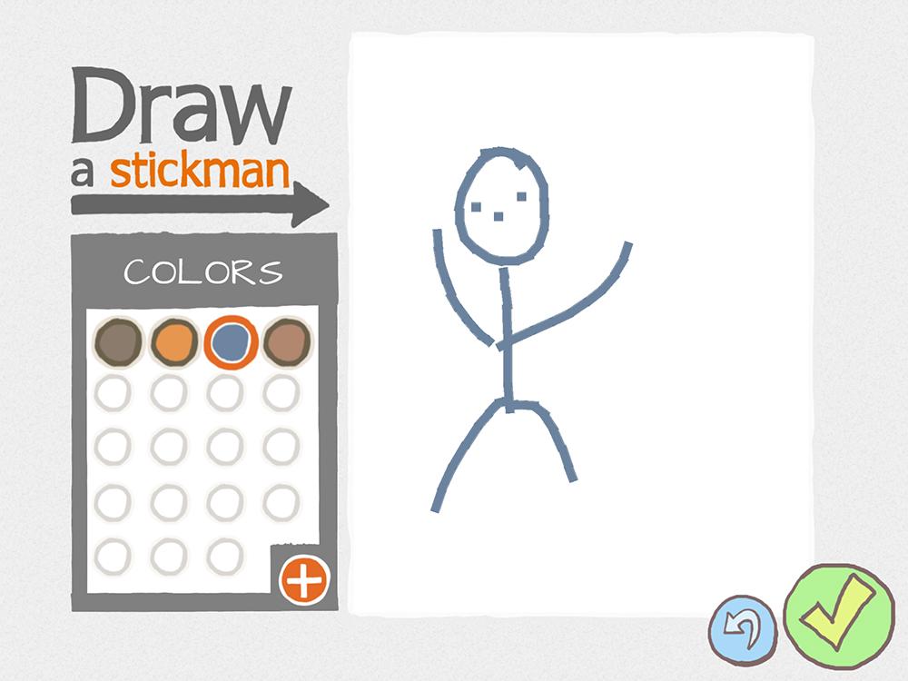 how to draw a stickman war