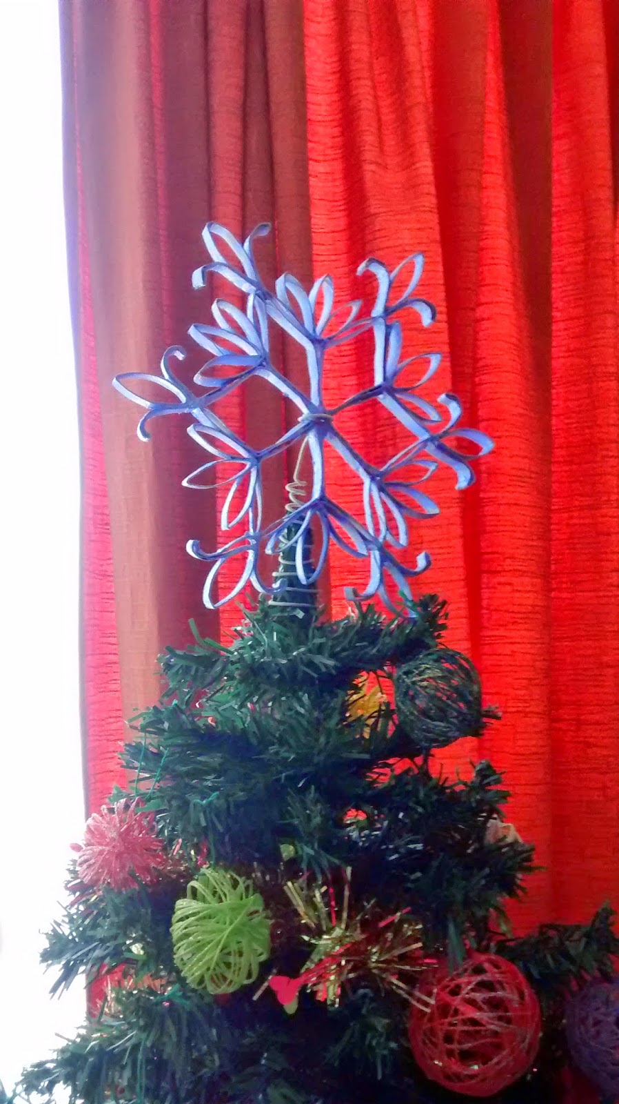 estrella arbol navidad artesanal